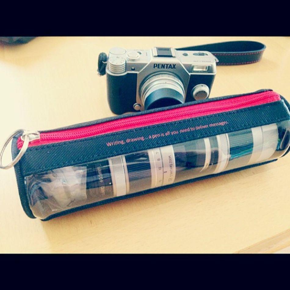 Stationary Pencase Lenscase レンズケース 04toylenswide