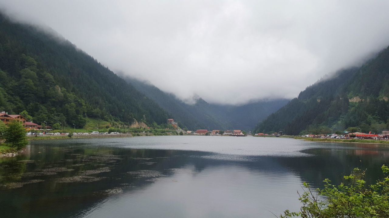 Reflection Lake Water Beauty In Nature Nature Landscape Mountain Scenics Tree Outdoors Stream - Flowing Water Sky No People Day Turkey Trabzon Uzungöl Lake View Lakescape Lakeside Lakes  Shades Of Blue Shades Of Green