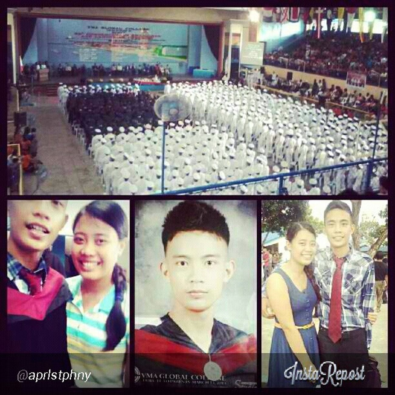 Brother's graduation