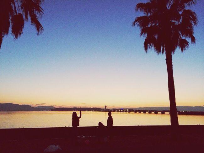 sunset 森園 First Eyeem Photo