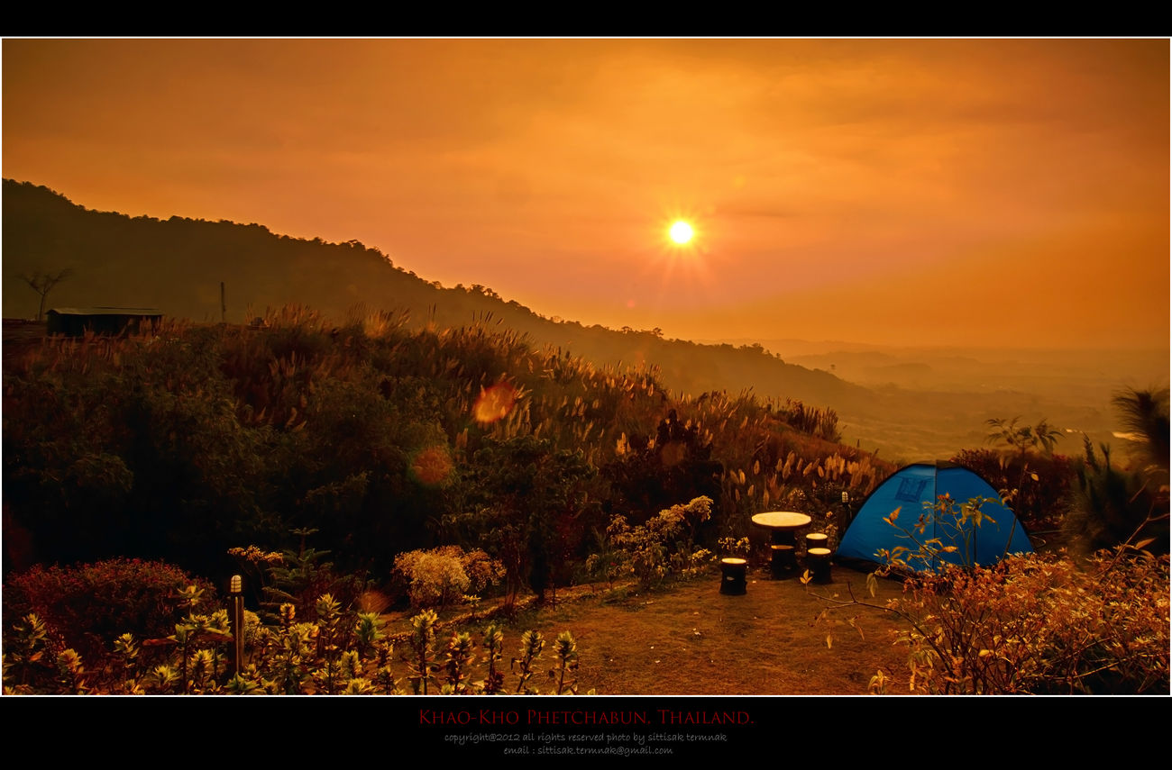 Khao-Kho, Phetchabun, Thailand. Sunset Travel Thailand_allshots Landscape_Collection