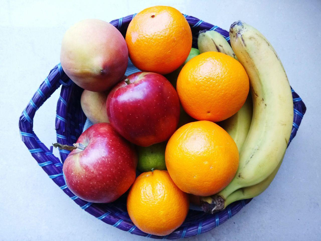 Healthy Eating Fruit Food No People Freshness Food And Drink Close-up Bowl Nature Healthy Fresh EyeEm Nature Lover EyeEm Gallery Banana Apple Orange Vitamins