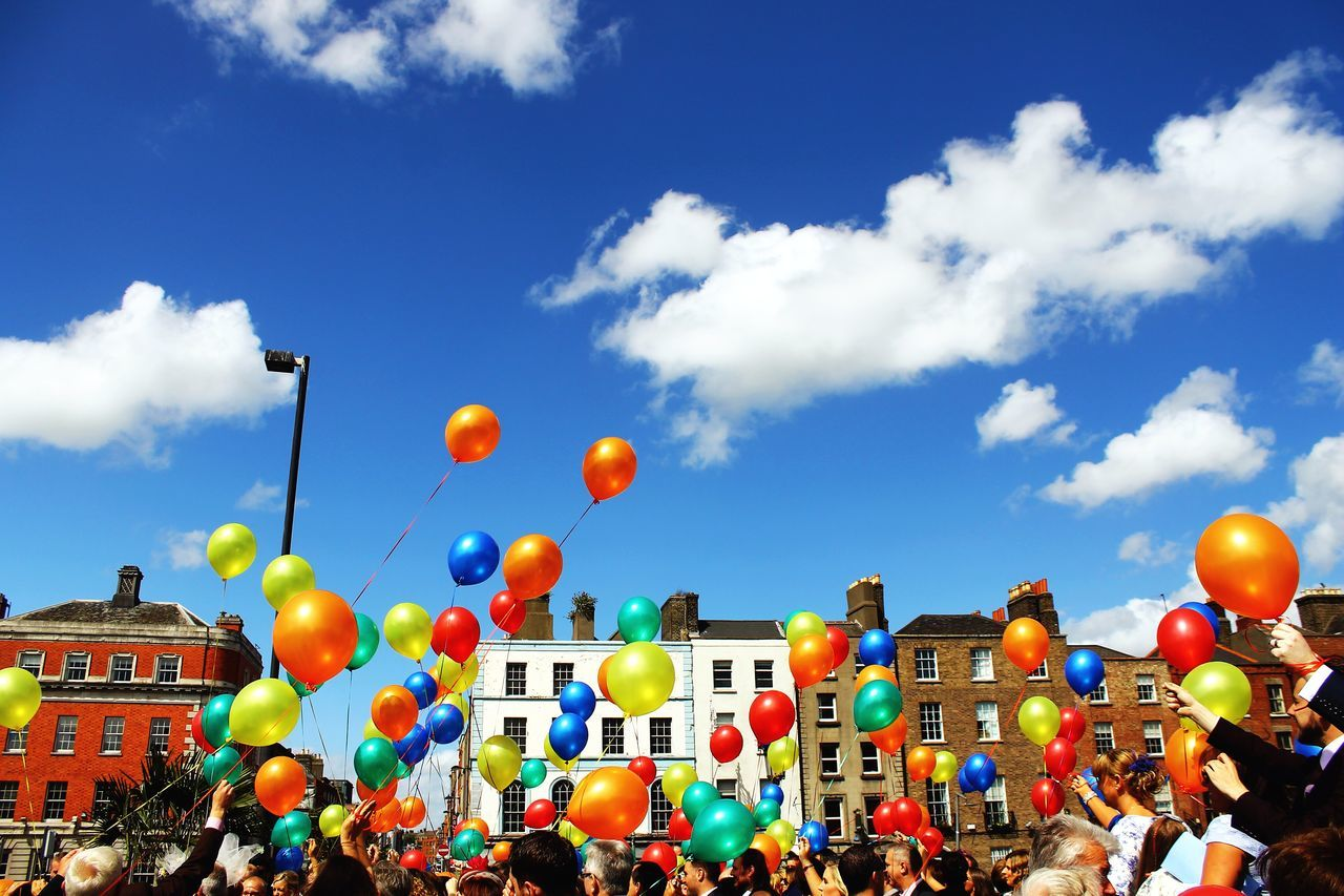Beautiful stock photos of dublin, Architecture, Balloon, Building Exterior, Built Structure