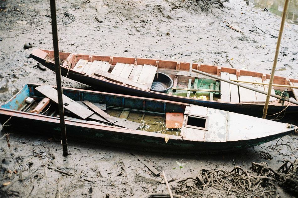 Gondola - Traditional Boat Transportation Canal Nautical Vessel No People Day Outdoors Analogphotography Pattern Social Issues EyeEmNewHere Eyeemphoto EyeEm Best Shots Feeling Life Creativity Eyemphotography Inthemoment Analog Filmisnotdead Filmphotographer Minimalist Lifestyles Lighting Contrast EyeEm Diversity