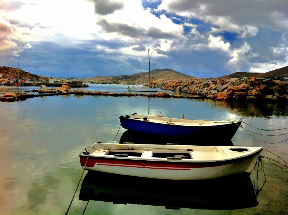 landscape at Naousa-paros by Thalia Stach