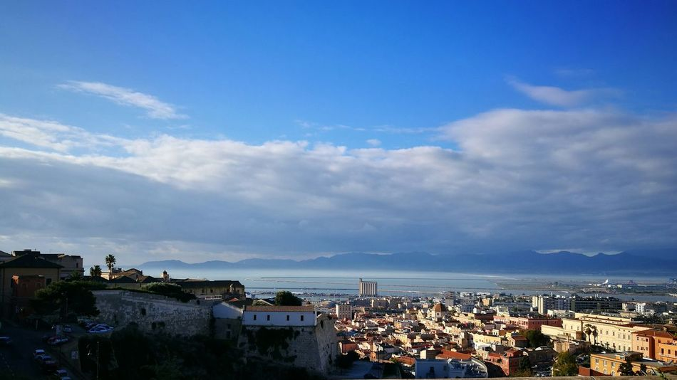 Wake up Cagliari Cagliari Urban City City Sky Sea Cloud - Sky Outdoors Urban Skyline