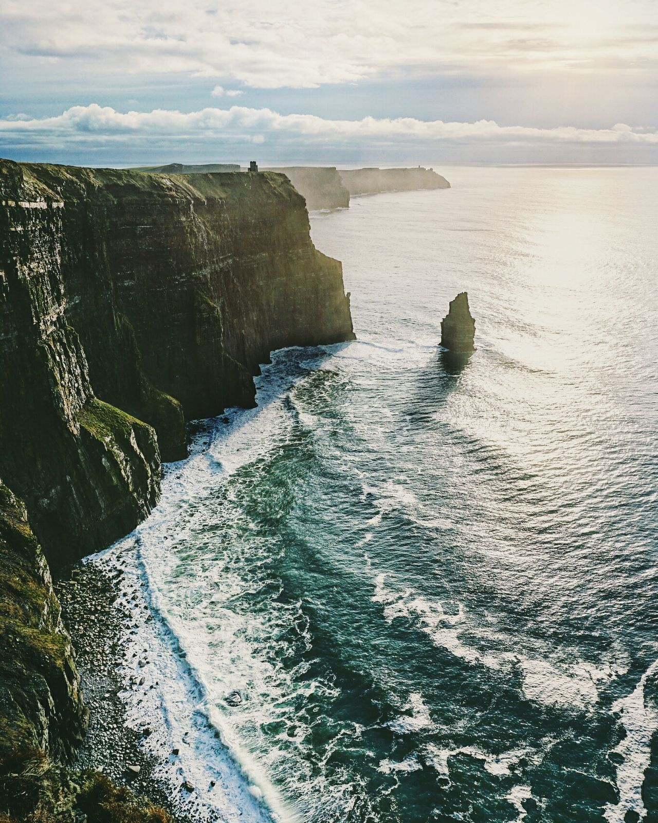 Beautiful stock photos of ireland, Beauty In Nature, Cliff, Cliffs Of Moher, Cloud - Sky