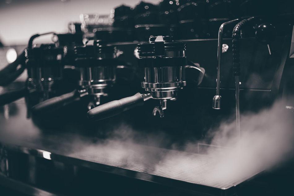Beautiful stock photos of hunde, Close-Up, Emitting, Equipment, Espresso Maker