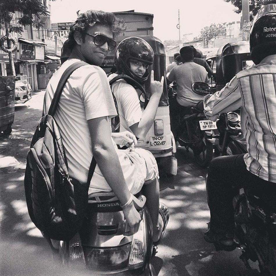 Throwback. Thechennaitrip Midtownmadness Chennaistreets Amazingmoments
