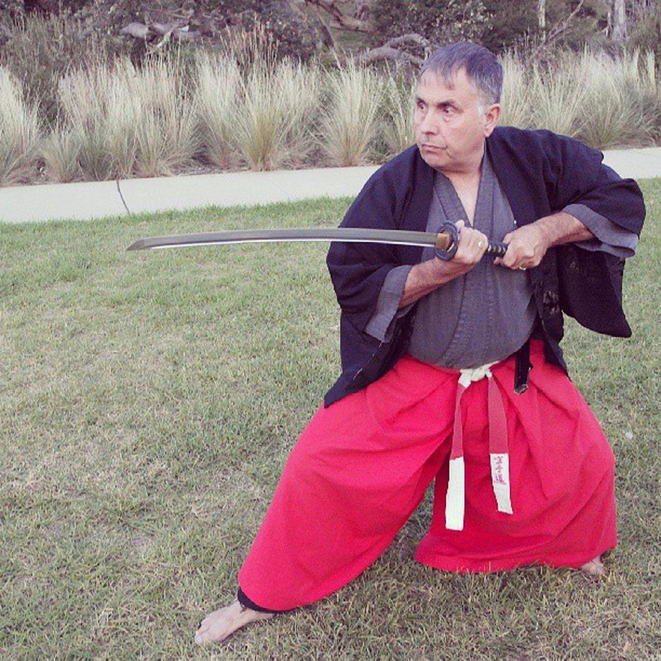 Tony Ball. Soke, Fudoshin Ryu. (AOFA)