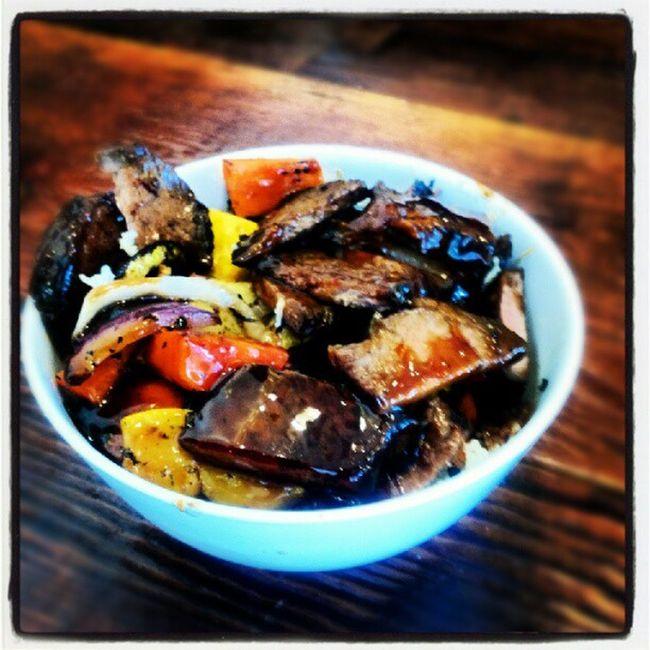 Afterwork meal! Angus Grassfed Basmati Veggies organic chyeah