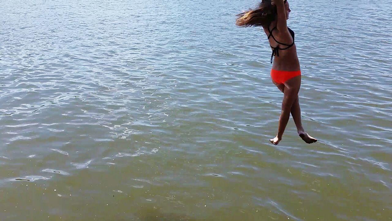 Beautiful stock photos of bikini, Bikini, Bikini Top, Day, Diving Into Water