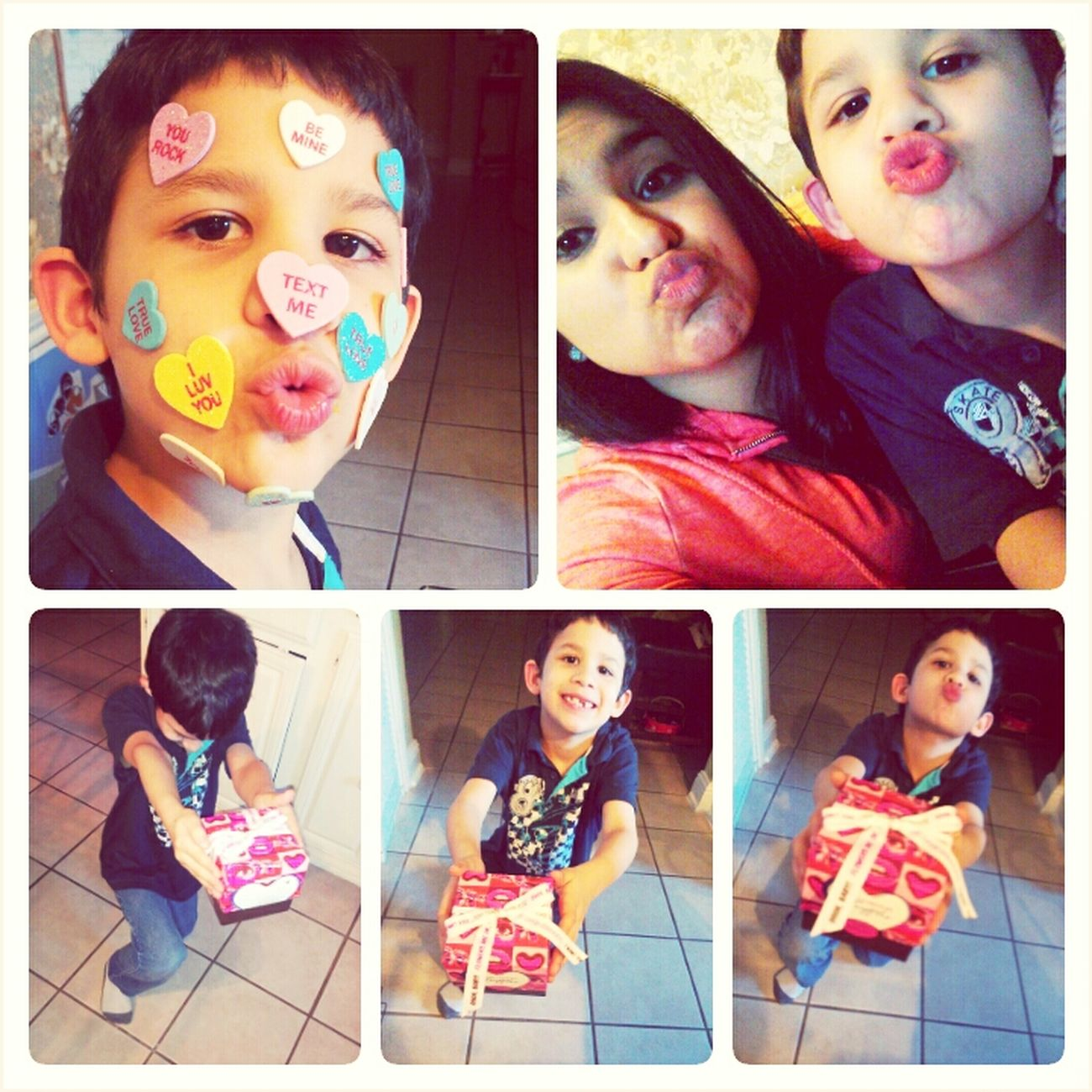 "This Cutie Asked Me ""Will You Be My Valentine?"" (:"