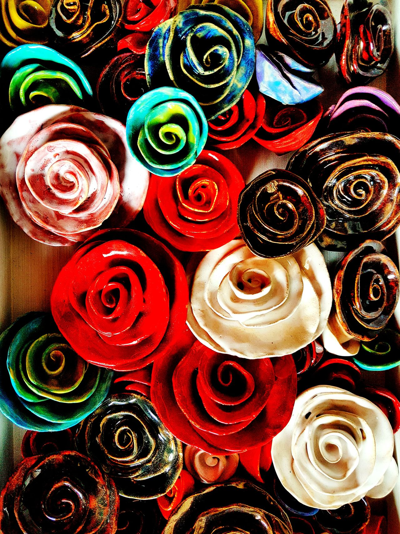 Arts and crafts Large Group Of Objects Red Indoors  Choice No People Spray Paint Multi Colored Close-up Day Flowers Crafts