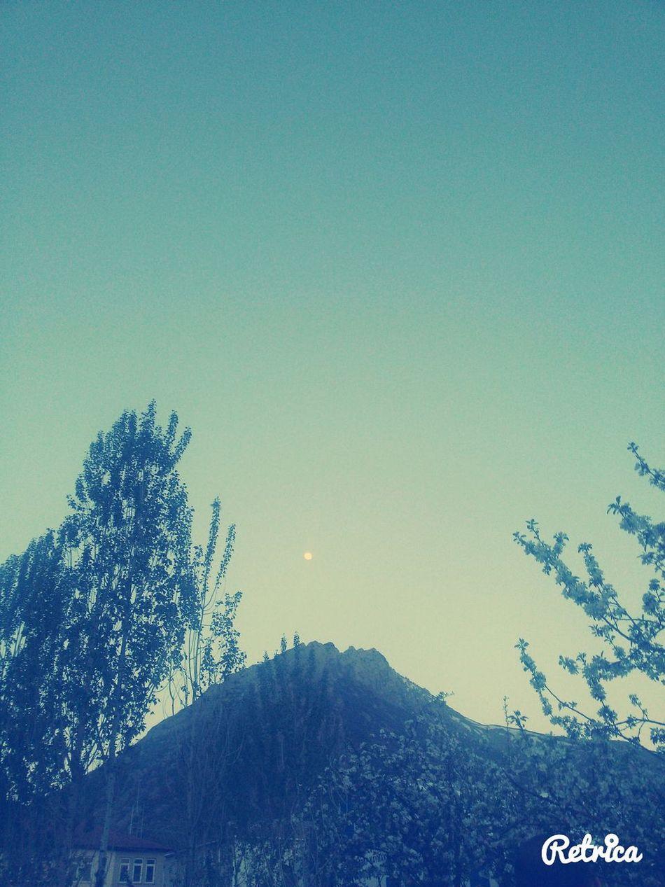 Evening Sky Mountain View
