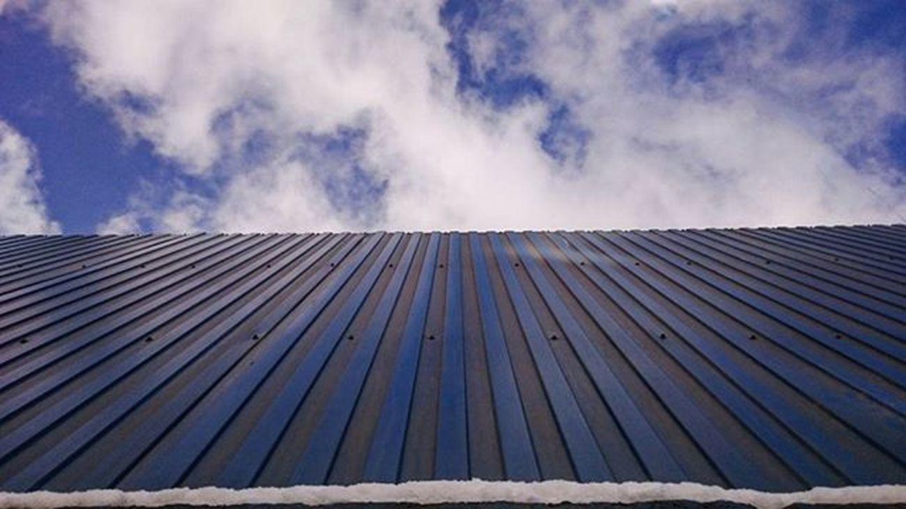 Когда небо цвета забора - это не так уж плохо ☁🌁 Vpeterburge небо Minimalism St_pgram