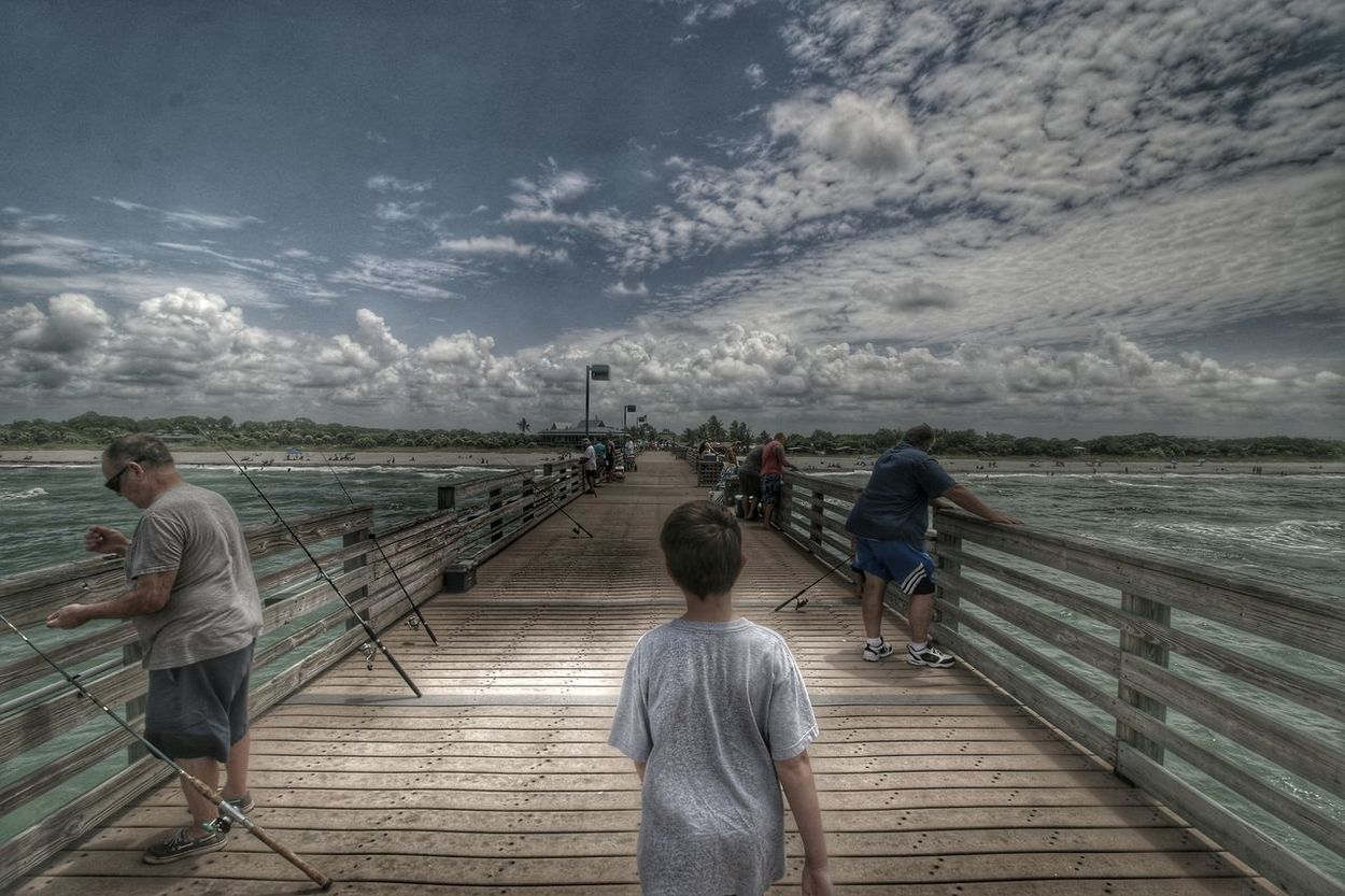Take the lead I Will Follow My Cloud Obsession☁️ Hdr_Collection Muted Colors Enjoying Life EyeEm Masterclass Eyeem Photography Hello World EyeEm Gallery Capture The Moment Colour Of Life Home Is Where The Art Is America Coast To Coast Summer Memories 🌄 Pier EyeEm Best Edits Beachphotography