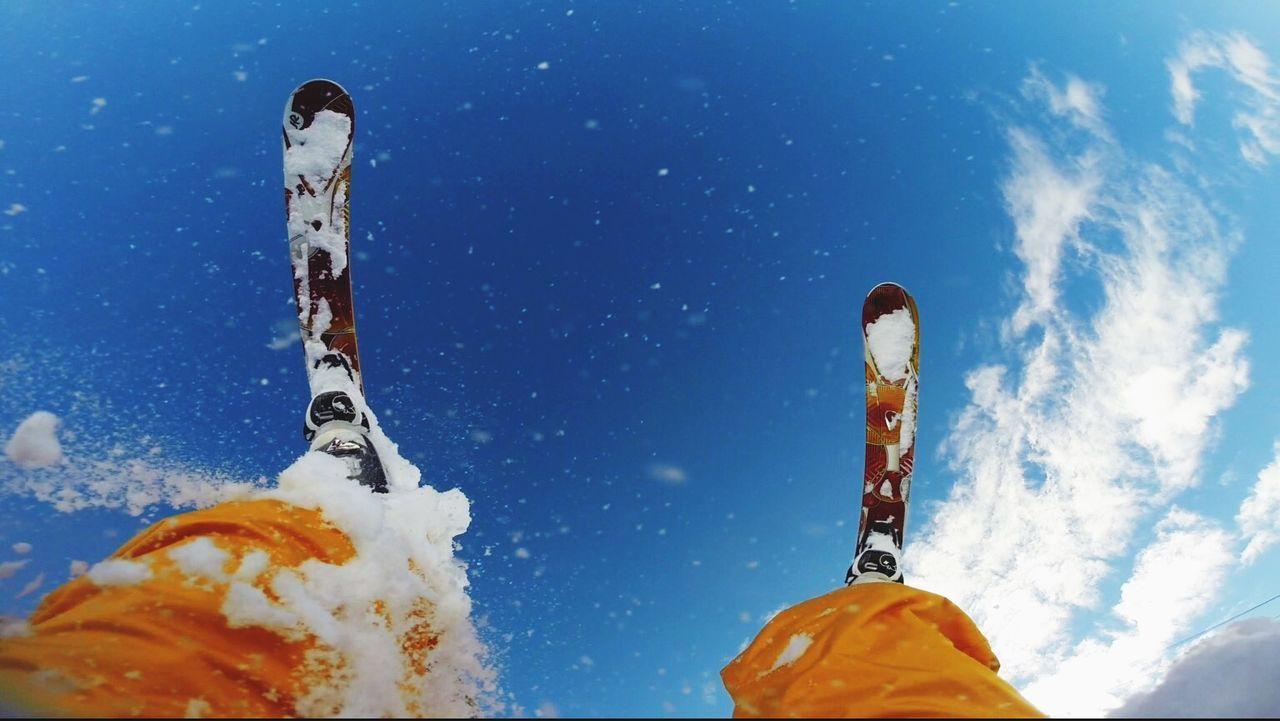 Make Magic Happen Skiing Skies Sky Snow Winter Sky Winter Fun The Adventurer - 2015 EyeEm Awards South
