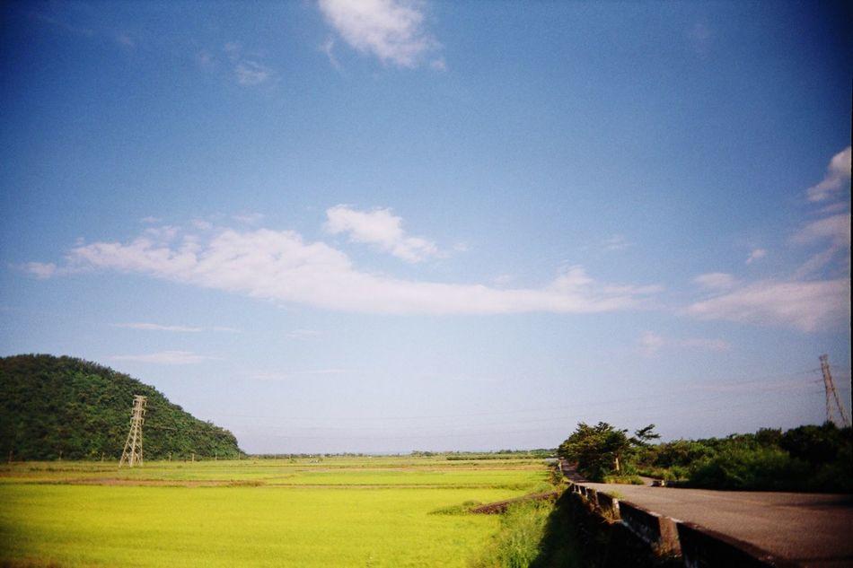 南澳 宜蘭 Yilan YilanCounty Yilan, Taiwan NANAO Nanaotownship Nature Sky Scenics Landscape Paddy Field Paddy First Eyeem Photo The Secret Spaces