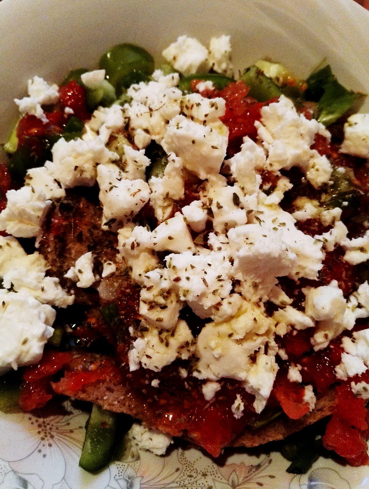 Summer Summer Food Lite Food Tomatoes Peppers Feta Cheese Greek Food Summer 2016 Cold Beer Good Food Pure Ingredients