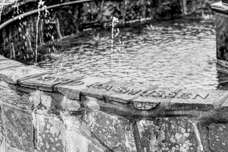 Black & White EyeEm Best Shots EyeEm Selects EyeEm Gallery Fountain Fountains Greenland Grönland Grønland Knud Rasmussen Black And White Blackandwhite Blackandwhite Photography Close-up Day Eye4photography  Lake Nature No People Outdoors Puddle Reflection Rippled Water Water_collection