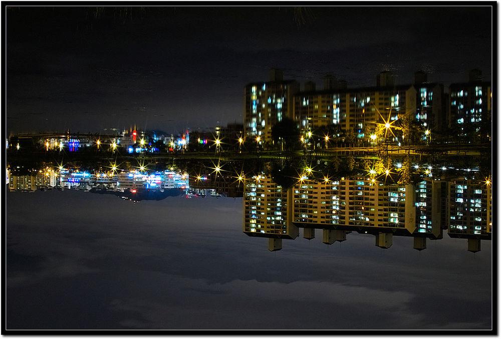 산책하기 좋은 Sd14 Nightphotography Water Reflections Lake