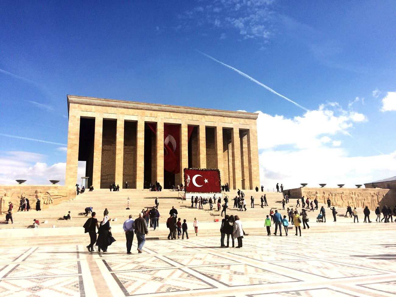 Ne Mutlu Türk'üm Diyene ! How happy to say Turkish! Ankara Türkiye Anıtkabir Anıtkabirdeyiz Ankara MustafaKemalAtatürk Turk BayrakSereftir