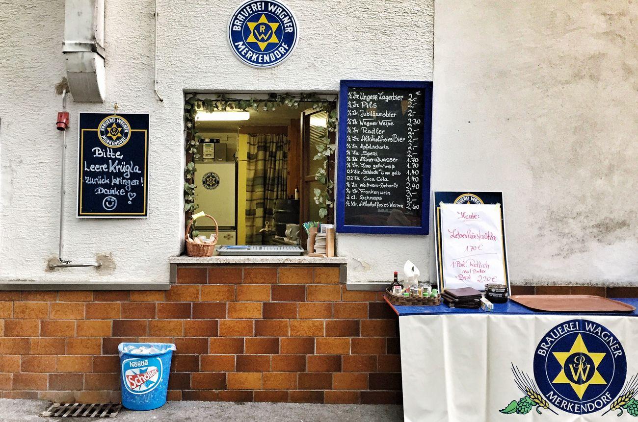 Beer Brewery Wagner Merkendorf Bamberg  Franconia Vatertag
