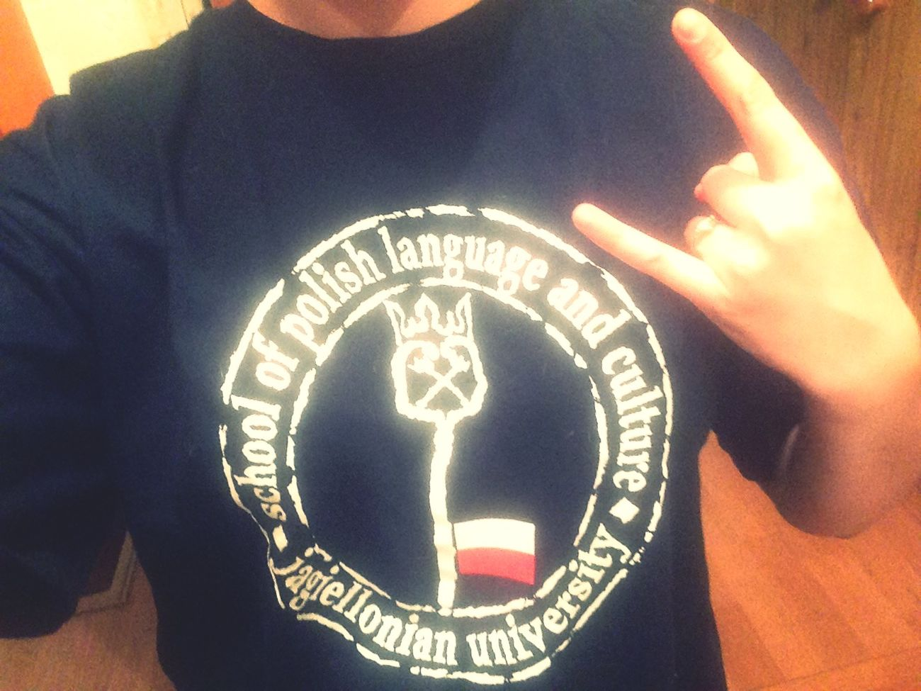 Won a T-shirt Jagiellonia University Mydream Tostudy Masters