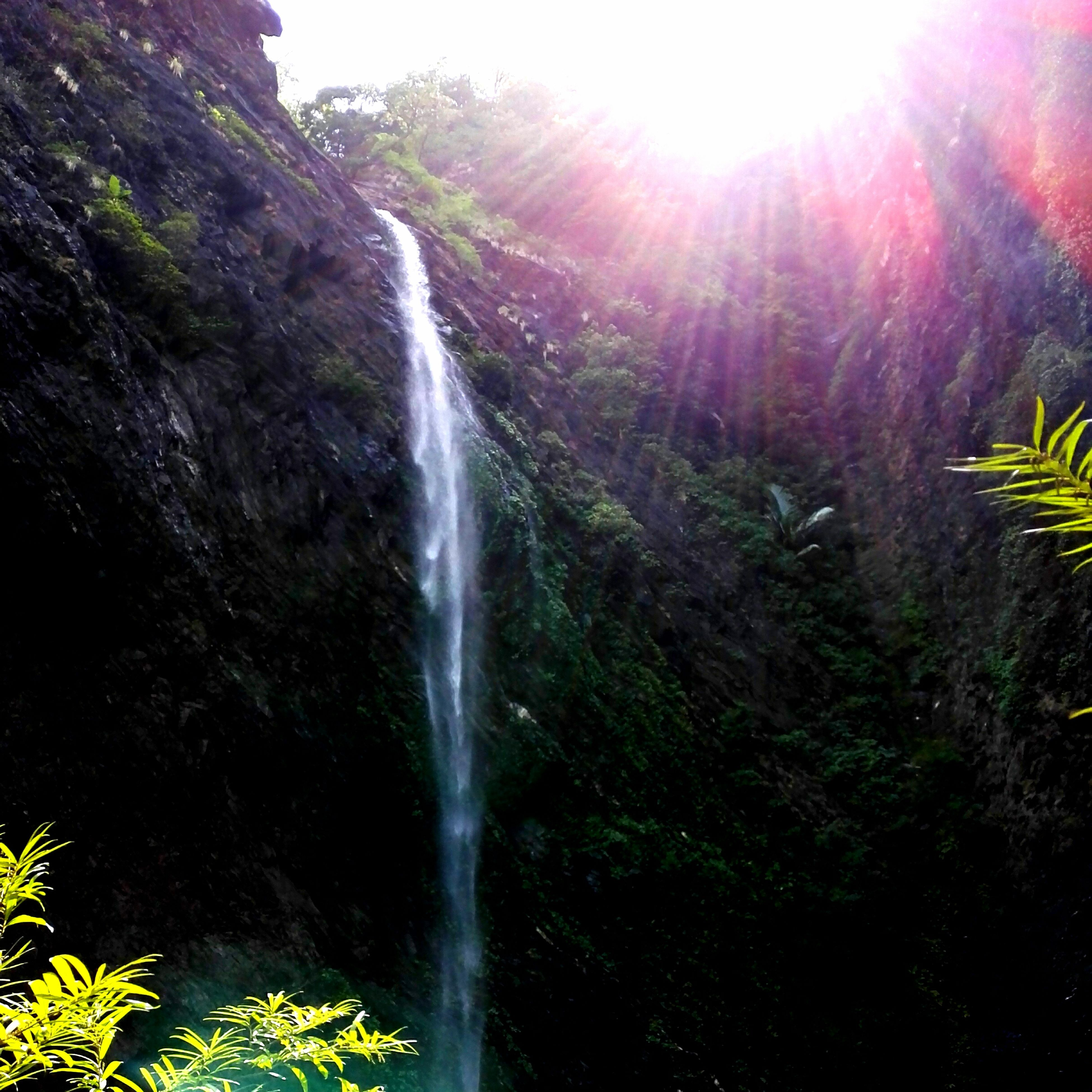 God's Magnificent Creation Kudlu Falls Sunshine ☀ Great Day  Hiking India With Friends Bonding Friendship Nature Great Time  Colour Of Life