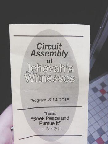 Skiatook, Oklahoma Love Peace & Happiness :p Assembly Jehovahscreation Jehova's Witnesses Skiatook Oklahoma