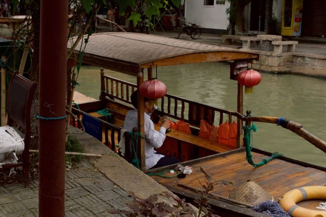 Hard Work Needs a Break Break Chinese Culture Day Gondola Outdoors Tea Time Tourism Wood - Material