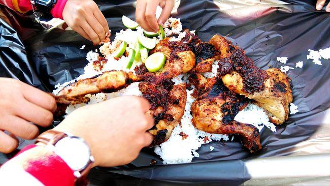 What I Value Food Sharefood Better Together Picnic Time ♡ Handtohand RoastedChicken Sambalbelacan Helping Refugees A Taste Of Life