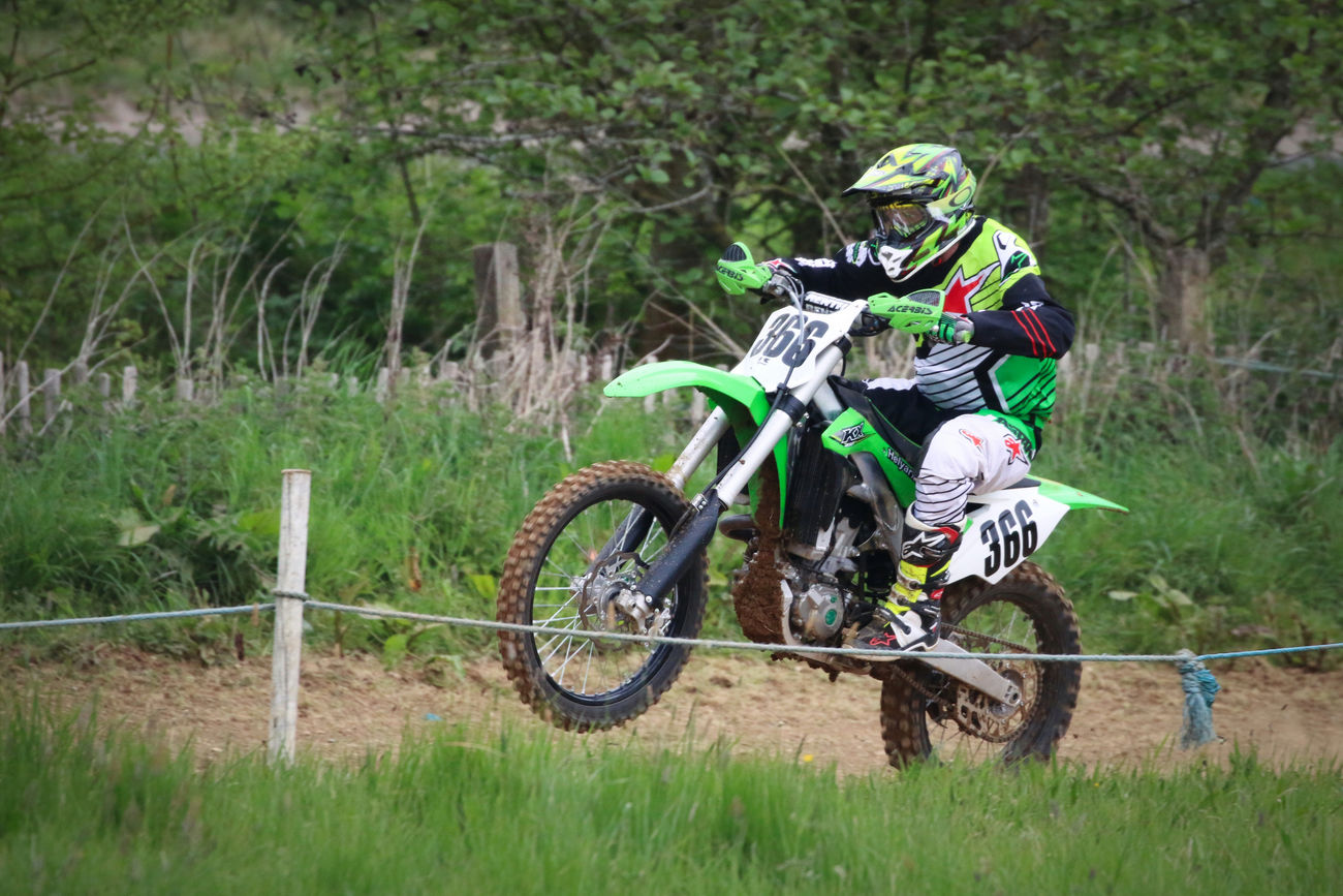 Motocross Rider Adventure Competition Competitive Sport Day Extreme Sports Field Headwear Helmet Land Vehicle Lifestyles Mode Of Transport Motion Motocross Motorcycle One Person Outdoors Real People Riding Skill  Speed Sport Sports Clothing Sports Race Stunt Transportation