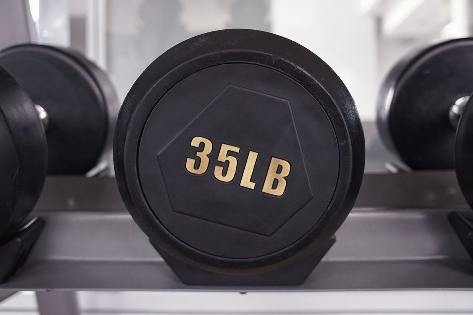 Communication Indoors  Black Color Technology Focus On Foreground Text Close-up No People Time Day Weight Weights Exercising Exercise Sport Black & White Black And White Blackandwhite Dumbell Dumbells Gym Indoors