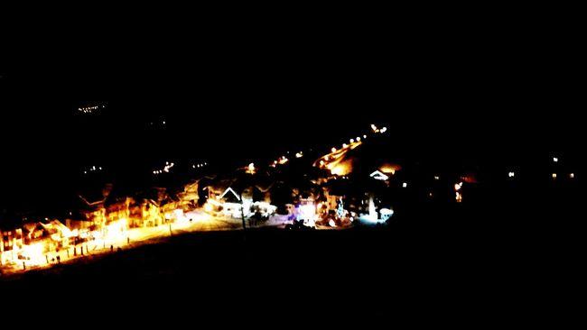 Valmeinier Travel Montagne Ski Nightphotography France