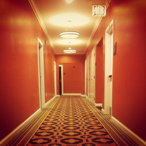 "Corridor Fit For ""The Shining"" Chicago Theshining Wildcarpet Hotelmonaco"