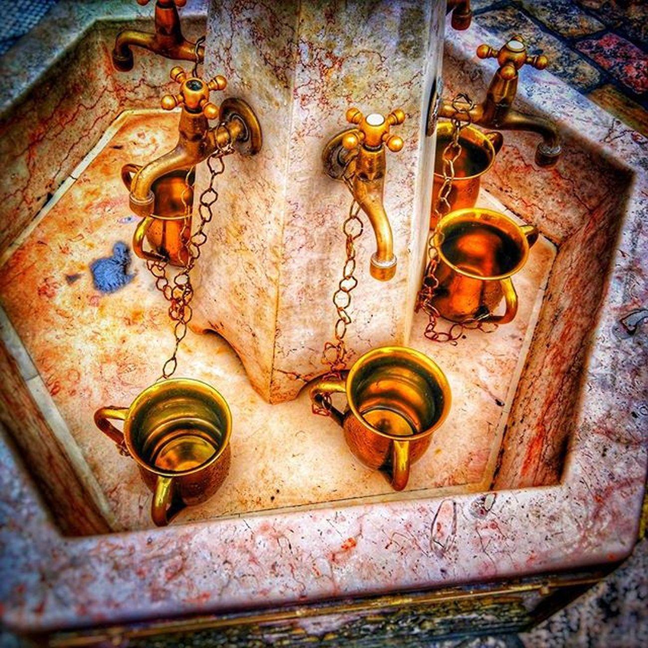 Hand washing station at Westernwall Wailingwall in Jerusalem Jewishquarter Jewish Israel