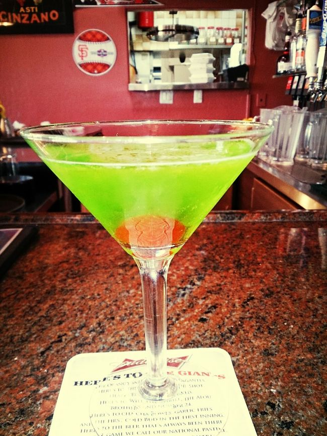 Appletini Drinking Happy Hour! Hanging Out