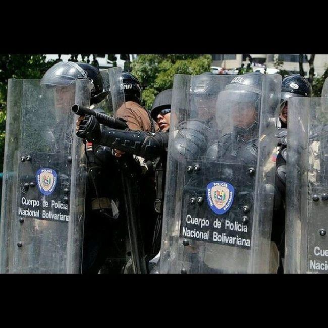 Police Represion Venezuela Rabia
