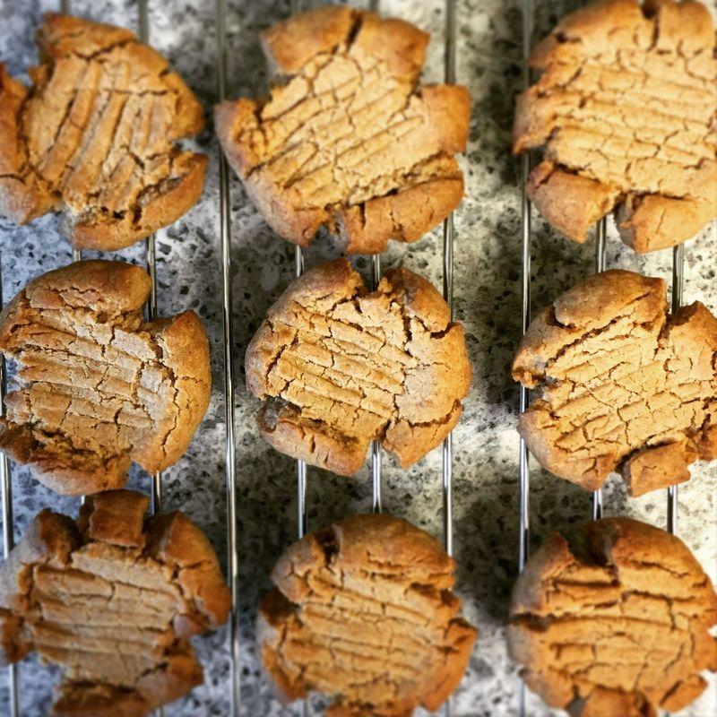 Peanut butter cookies Peanut Butter Peanut Butter Cookies Baking Baking Cookies Fresh Homemade Food Foodphotography Food Photography
