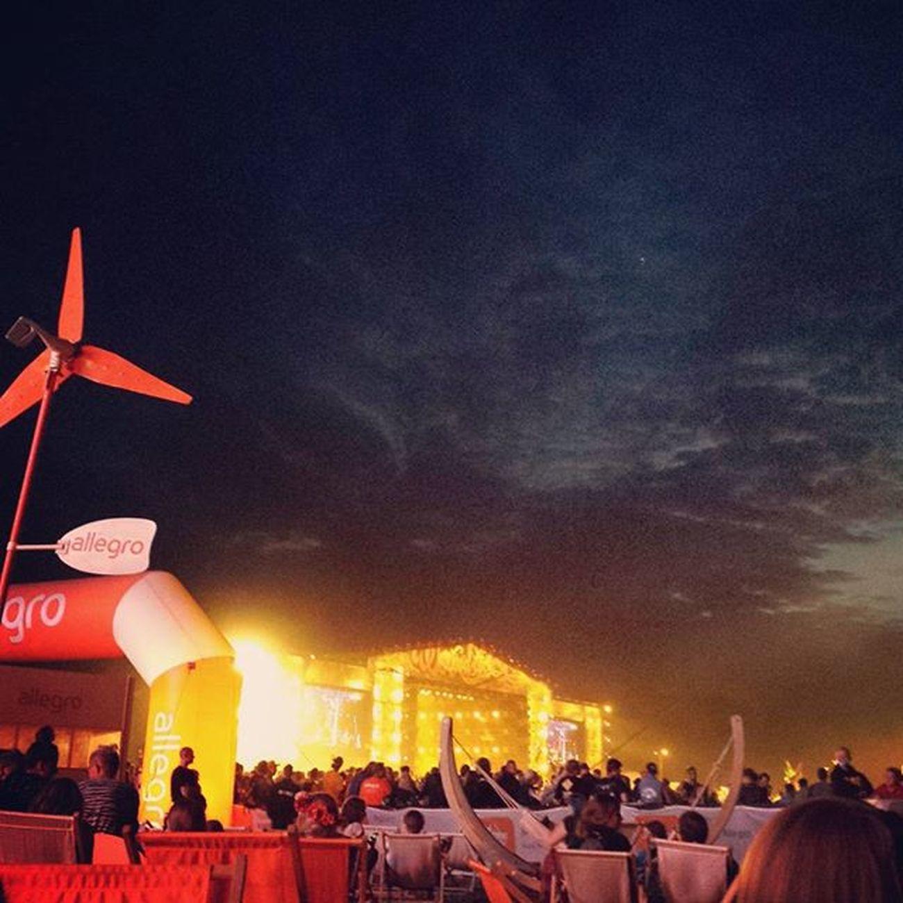 Nocny chillout Allegro dziękujemy Woodstock2015