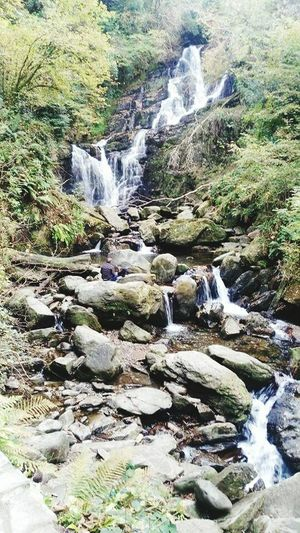 Killarney  Killarney National Park Kerry Ireland Waterfall People Photography