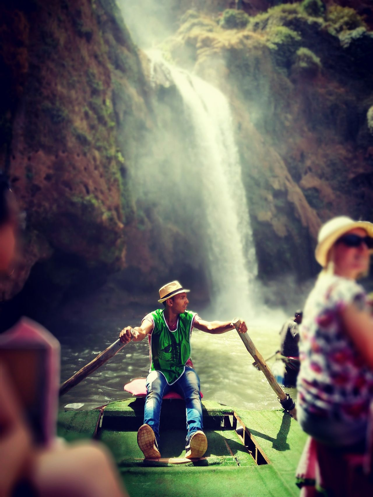 Waterfall Nature Morroco Ouzoud Falls