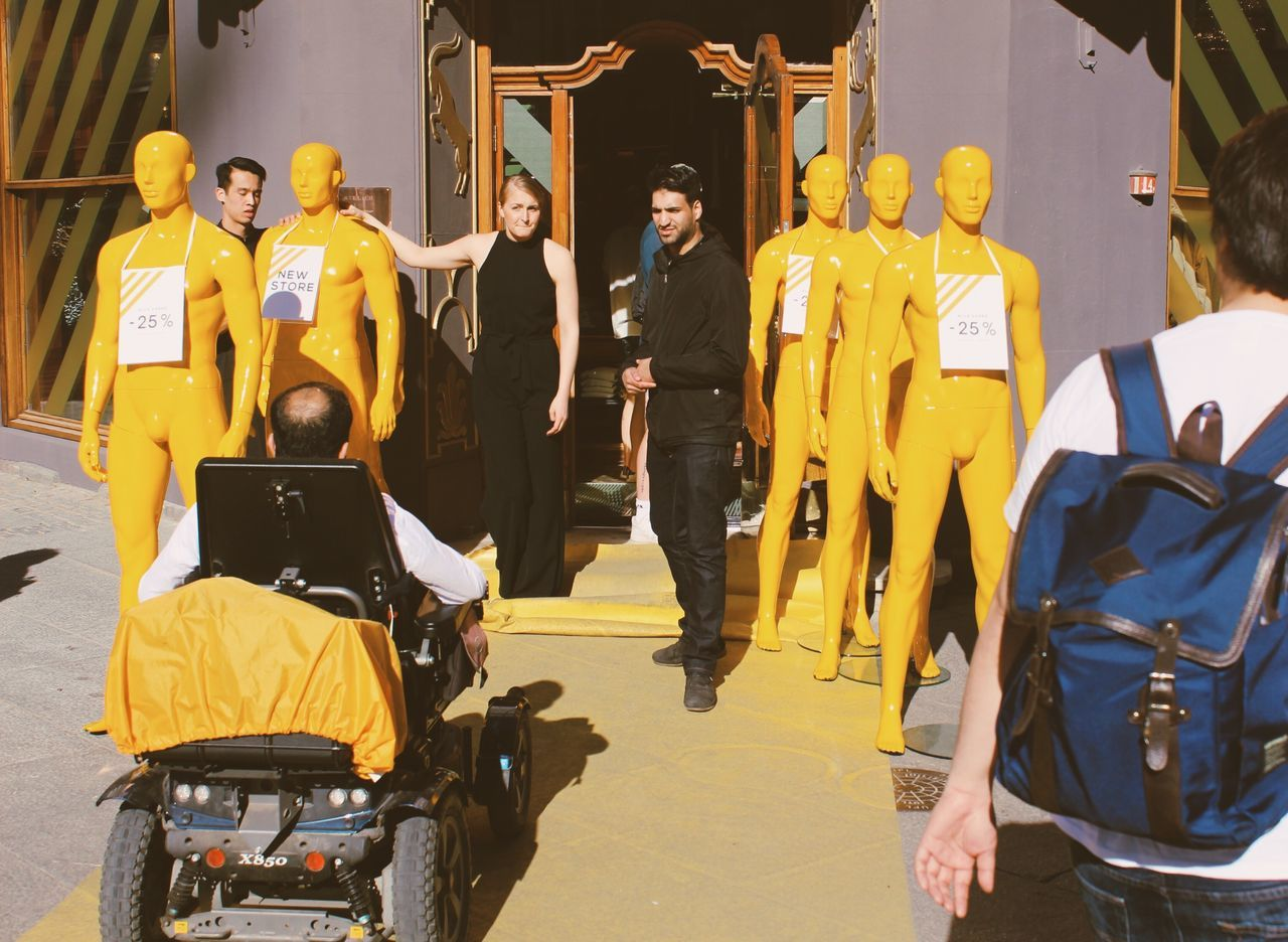 Yellow scene Yellow Street People
