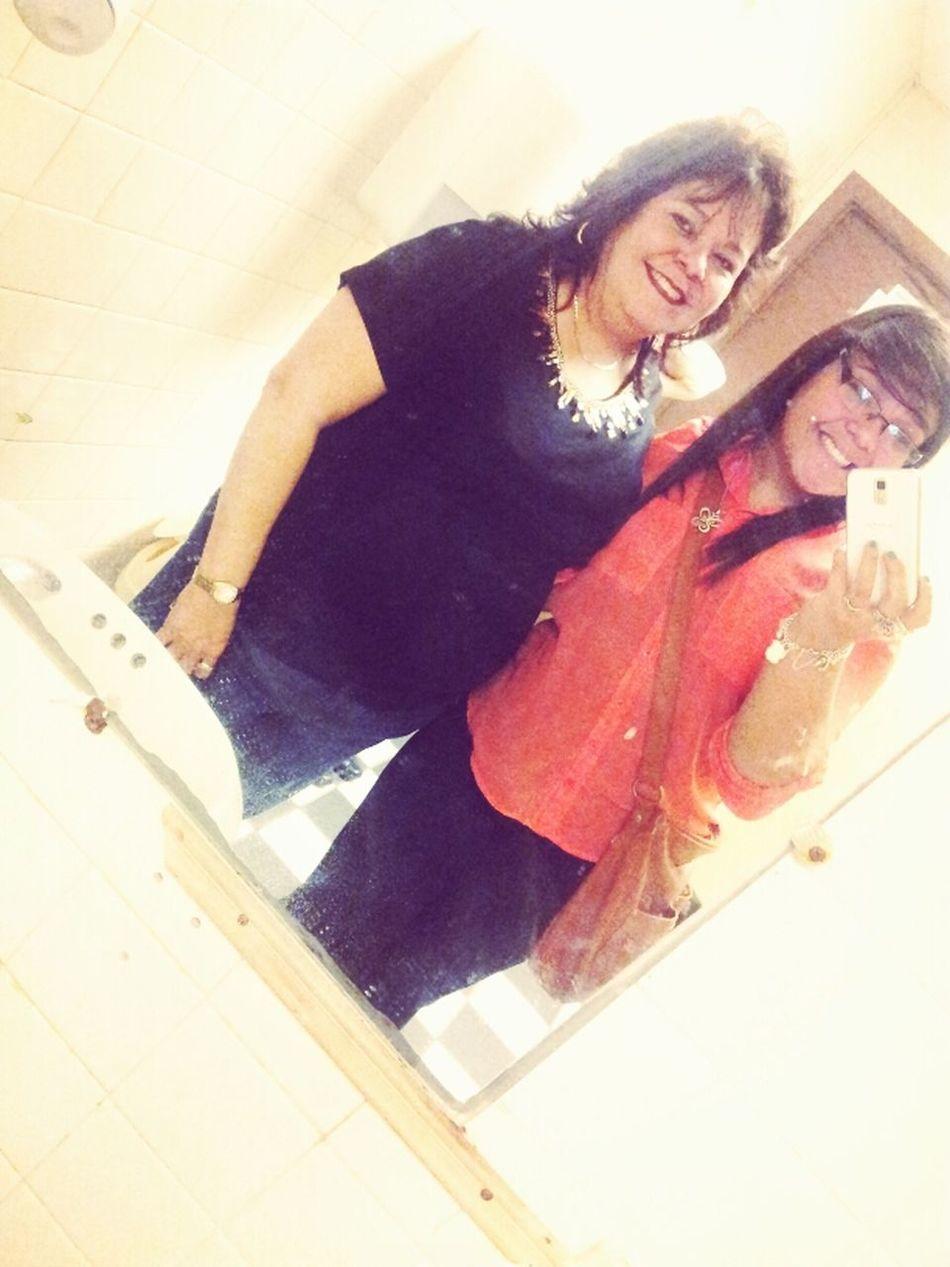 Me & My Gorgeous Mom. <3 :)