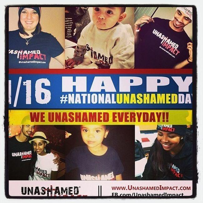 NationalUnashamedDay