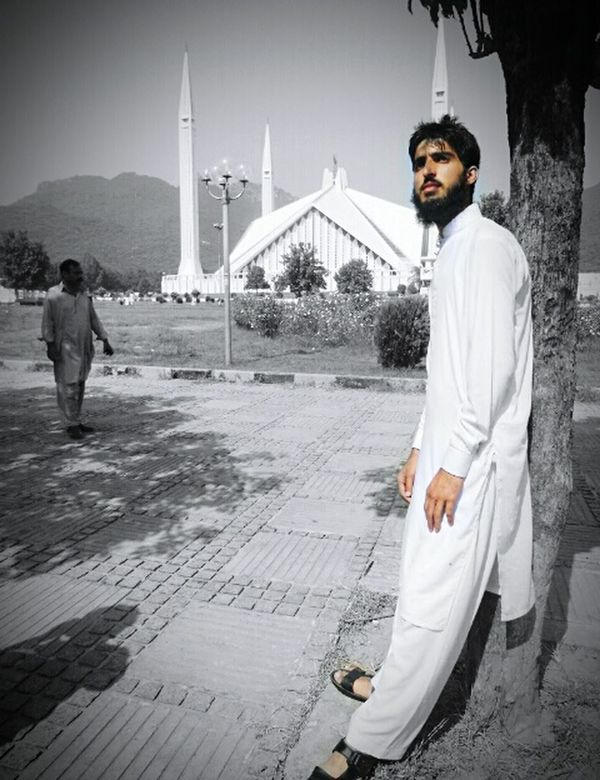 Pakistani I'm Proud To Be Muslim Amazing View Hot Day Nice View Islamabad Supernatural Tree And Sky Coulds