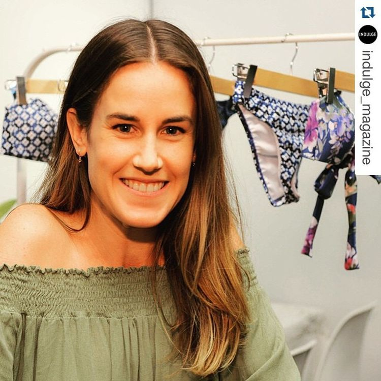 Repost from @indulge_magazine of Becky from @peonyswimwear during @goldcoastswimfashionfestival Emerging Designers Trade Fair Swimwear Designer  . . . Have a look at these emerging young designers who presented their newest swim wear creations and trends at the Gold Coast Swim fashion festival http://indulgemagazine.net/gold-coast-swim-fashion-festival/ SEQ Indulge GoldCoast Youngdesigners Eatliveplay