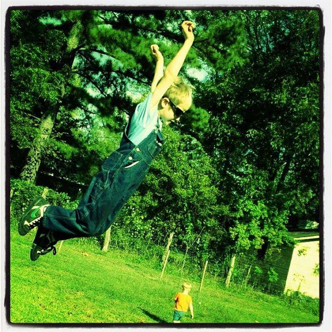 Jump Lovemyboys Kids Fly